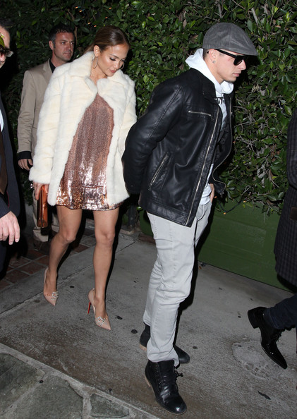 Casper Smart's leather jacket toughened up his too-cool look.