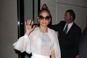 Jennifer Lopez Leather Clutch