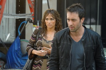 Jennifer Lopez Alex O'Loughlin Jennifer Lopez On The Set Of 'The Backup Plan'