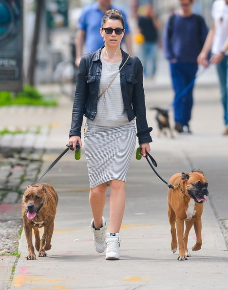 Jessica Biel Basketball Sneakers