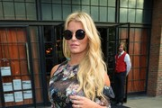 Jessica Simpson Sheer Top