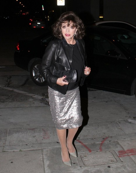 Joan Collins Knee Length Skirt