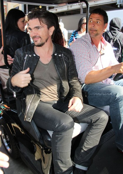 More Pics of Juanes Leather Jacket (1 of 27) - Juanes Lookbook - StyleBistro