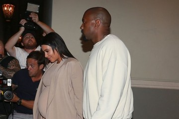Kanye West Kim Kardashian The Kardashians Celebrate Kim's Birthday in Thousand Oaks