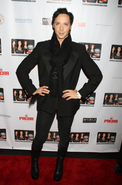 More Pics of Johnny Weir Pashmina (1 of 3) - Johnny Weir Lookbook - StyleBistro