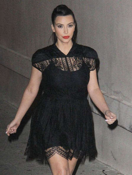 More Pics of Kim Kardashian Little Black Dress (2 of 3) - Dresses & Skirts Lookbook - StyleBistro