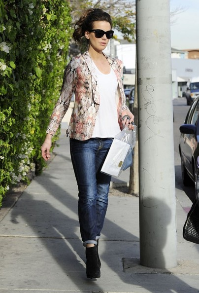 Kate Beckinsale Out Shopping On Melrose