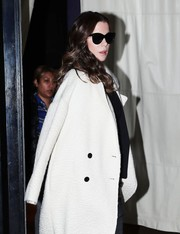 Kate Beckinsale stayed classic with a pair of cateye sunglasses while out and about in New York City.