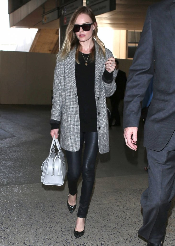 Kate Bosworth Arrives in LA