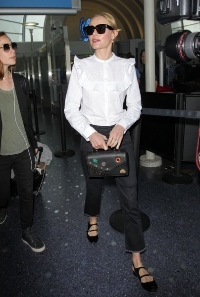 Kate Bosworth Leather Purse []