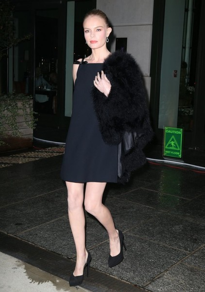 Kate Bosworth Fur Coat