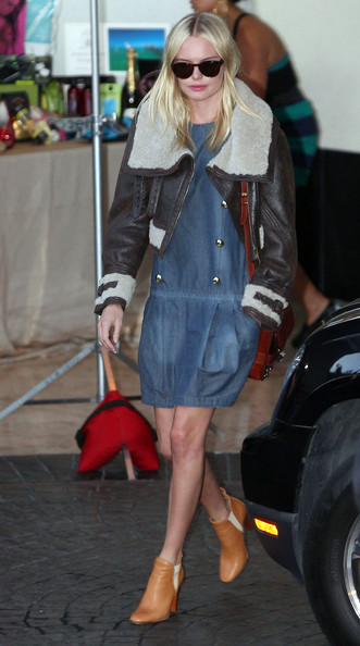 Kate Bosworth Leather Jacket