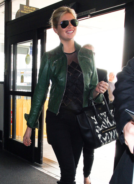 Kate Upton Leather Jacket