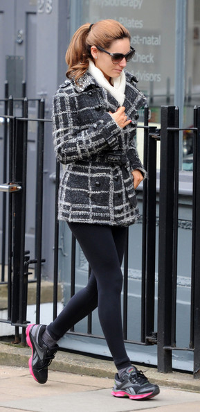 Kelly Brook Wool Coat