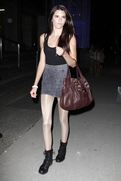 Kendall Jenner Leather Tote