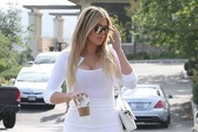 Khloe Kardashian Pencil Skirt