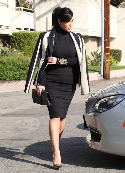 More Pics of Kim Kardashian Blazer (3 of 33) - Kim Kardashian Lookbook - StyleBistro