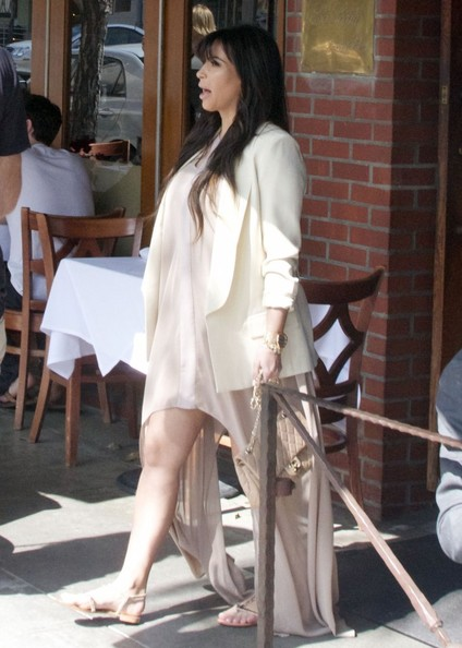 More Pics of Kim Kardashian Blazer (2 of 39) - Kim Kardashian Lookbook - StyleBistro