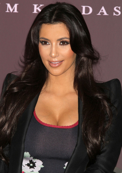 Socialite Kim Kardashian promotes her new perfume at Macy's in New York City ...