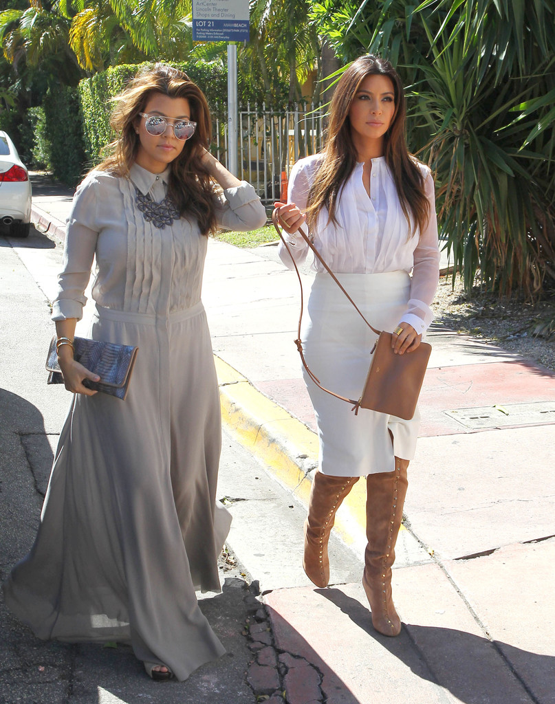 More Pics Of Kim Kardashian Over The Knee Boots 2 Of 41 Boots Lookbook Stylebistro