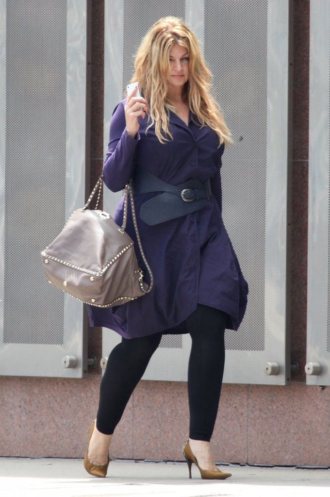 Kirstie Alley Leggings Kirstie Alley Looks Stylebistro