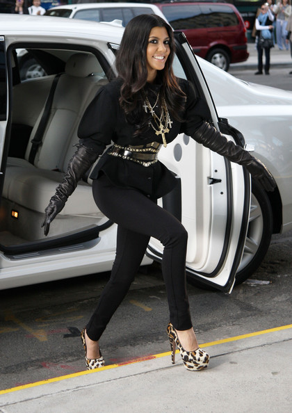 Kourtney Kardashian Platform Pumps