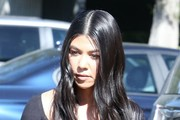 Kourtney Kardashian Long Wavy Cut