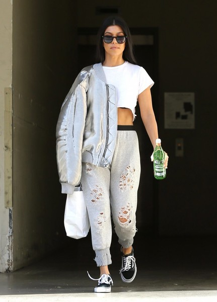 Kourtney Kardashian Bomber Jacket