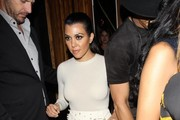 Kourtney Kardashian Strappy Sandals