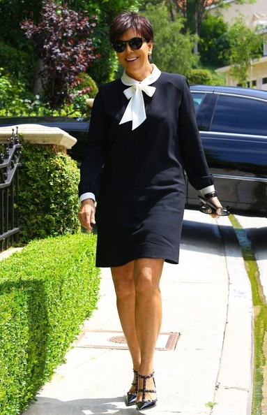 Kris Jenner Day Dress