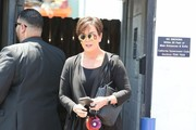 Kris Jenner Leather Lace-ups