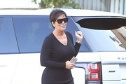 Kris Jenner Sweater Dress