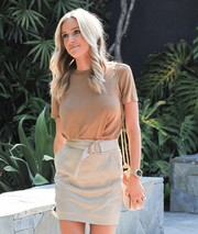 Kristin Cavallari accessorized with a stylish gold quartz watch while out in West Hollywood.