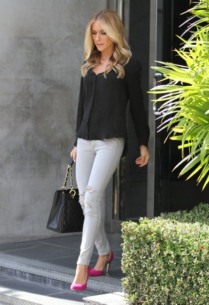 Kristin Cavallari Button Down Shirt