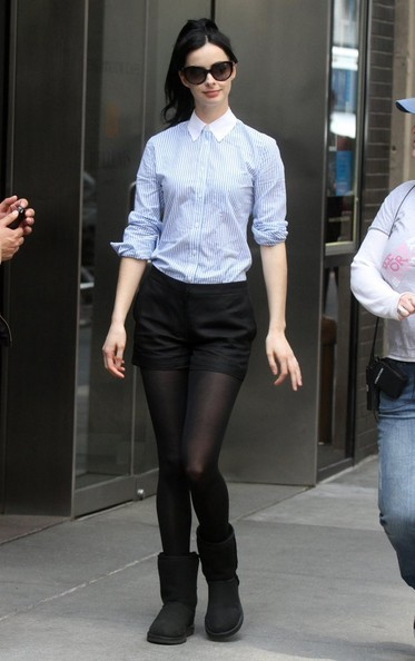 Krysten Ritter Button Down Shirt