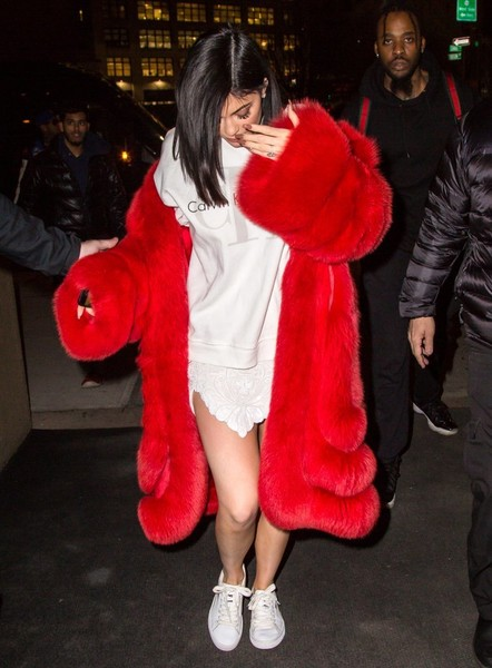 More Pics of Kylie Jenner Fur Coat (1 of 9) - Fashion Lookbook - StyleBistro