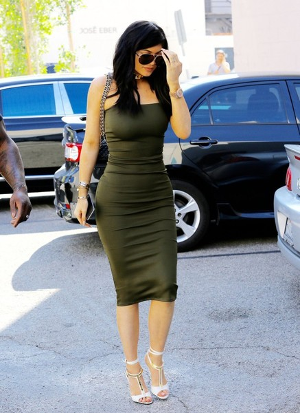 Kylie Jenner Strappy Sandals []