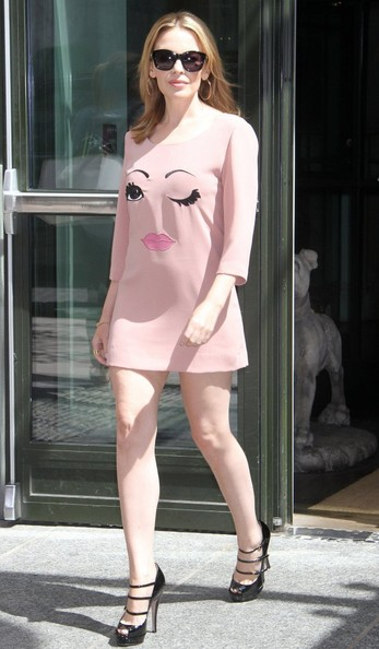 Kylie Minogue Mini Dress