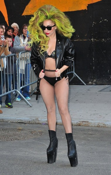 Lady Gaga Wedge Boots