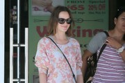 Leighton Meester Crewneck Sweater