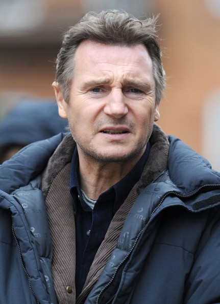More Pics of Liam Neeson Fitted Jacket (1 of 13) - Fitted Jacket Lookbook - StyleBistro