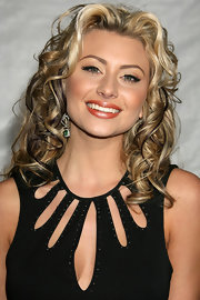 Aly Michalka showed off her long curls while hitting a Los Angeles premiere.