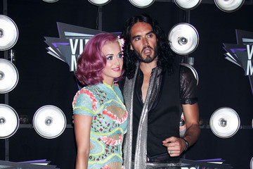 Katy Perry Russell Brand MTV Video Music Awards - Arrivals 2
