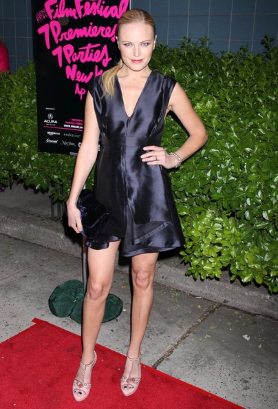Malin Akerman Cocktail Dress