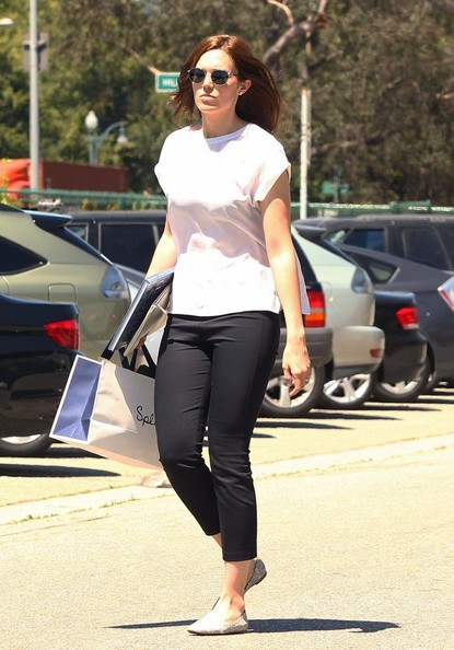 Mandy Moore Skinny Pants