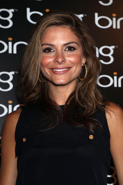 Maria Menounos Gold Hoops