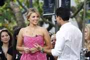 Ali Fedotowsky and Mario Lopez Photo