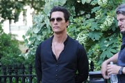 Actor Matthew McConaughey on set of his new movie