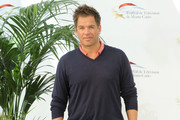 Michael Weatherly V-neck Sweater