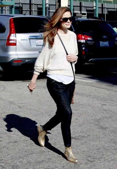 Michelle Monaghan Ankle Boots